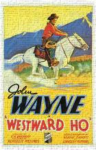 Westward Ho art print poster transferred to canvas
