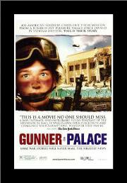 Gunner Palace art print poster with simple frame