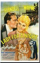 Lady for a Night art print poster with block mounting