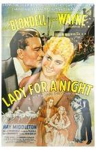 Lady for a Night art print poster with laminate