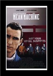 Mean Machine art print poster with simple frame