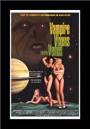 Vampire Vixens from Venus art print poster with simple frame