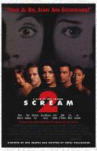 Scream 2 art print poster transferred to canvas