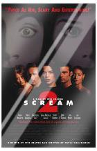 Scream 2 art print poster with laminate
