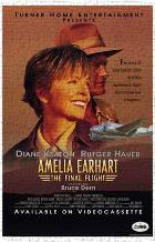 Amelia Earhart: the Final Flight art print poster transferred to canvas