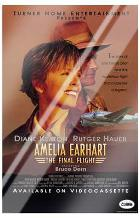 Amelia Earhart: the Final Flight art print poster with laminate