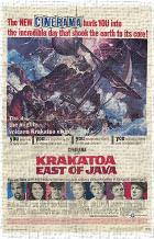 Krakatoa East of Java art print poster transferred to canvas