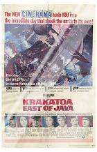Krakatoa East of Java art print poster with laminate