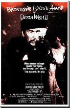 Death Wish 2 art print poster with block mounting