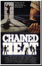 Chained Heat art print poster with block mounting
