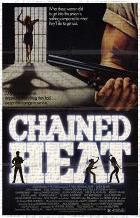 Chained Heat art print poster transferred to canvas