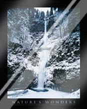 Columbia River Gorge art print poster with laminate