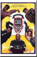 School Daze art print poster with block mounting