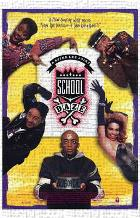 School Daze art print poster transferred to canvas