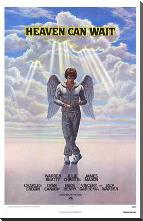 Heaven Can Wait art print poster with block mounting