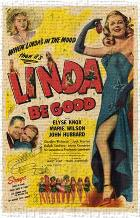 Linda Be Good art print poster transferred to canvas