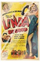 Linda Be Good art print poster with laminate