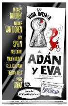Private Lives of Adam Eve, the art print poster with laminate