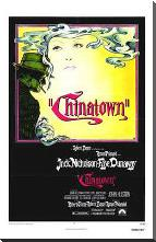 Chinatown art print poster with block mounting