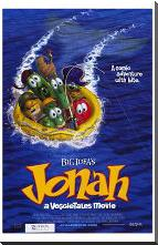 Jonah: a Veggietales Movie art print poster with block mounting