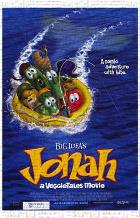 Jonah: a Veggietales Movie art print poster transferred to canvas