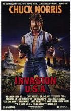 Invasion Usa art print poster transferred to canvas