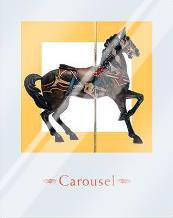 Carousel IV art print poster with laminate