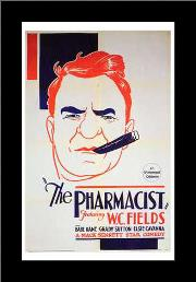 Pharmacist, the art print poster with simple frame