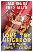Love Thy Neighbor art print poster with laminate