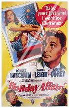 Holiday Affair art print poster with laminate