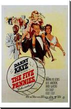 Five Pennies, the art print poster with block mounting