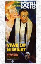 Star of Midnight art print poster transferred to canvas