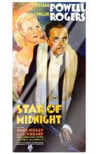 Star of Midnight art print poster with laminate