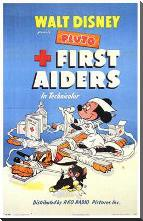 First Aiders art print poster with block mounting