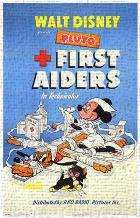 First Aiders art print poster transferred to canvas