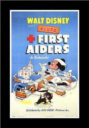 First Aiders art print poster with simple frame