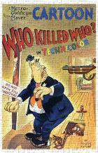 Who Killed Who art print poster transferred to canvas