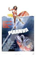 Piranha art print poster with laminate