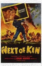 Next of Kin art print poster transferred to canvas