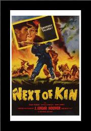 Next of Kin art print poster with simple frame
