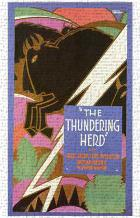 Thundering Herd, the art print poster transferred to canvas