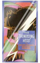 Thundering Herd, the art print poster with laminate