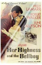 Her Highness and the Bellboy art print poster with laminate