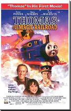 Thomas and the Magic Railroad art print poster with block mounting