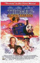 Thomas and the Magic Railroad art print poster transferred to canvas