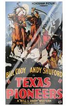 Texas Pioneers art print poster with laminate