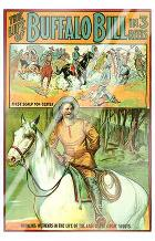 Life of Buffalo Bill, the art print poster with laminate