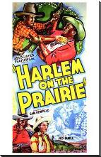 Harlem on the Prairie art print poster with block mounting