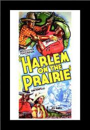 Harlem on the Prairie art print poster with simple frame