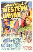 Western Union art print poster with laminate